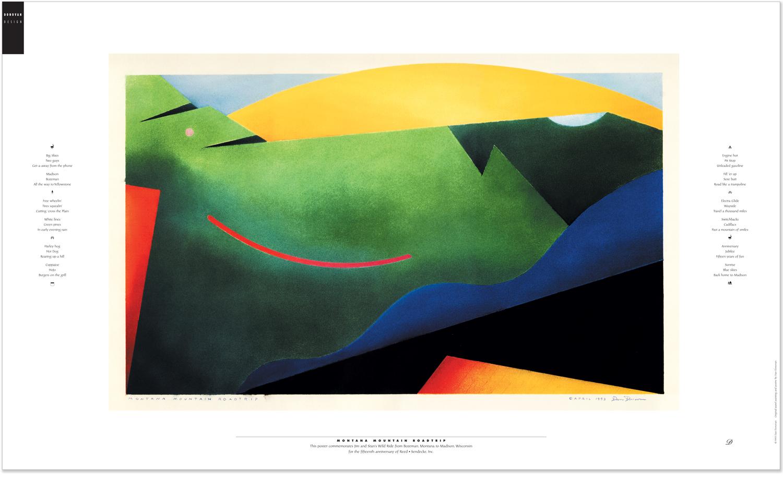 Reed • Sendecke Fifteenth Anniversary Poster
