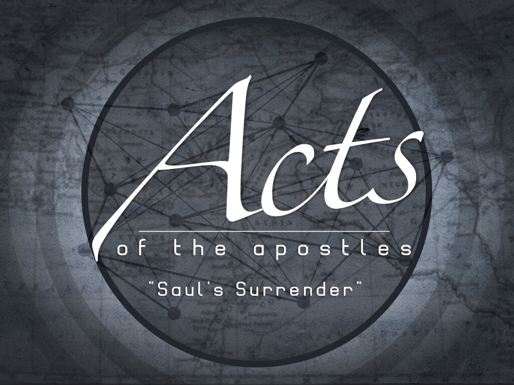 Acts - Saul's Conversion