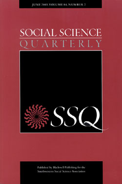 """- Ard, Kerry and Malcolm Fairbrother. 2016. """"Pollution Prophylaxis? Social Capital and Environmental Inequality."""" Social Science Quarterly 98(2):584–607."""