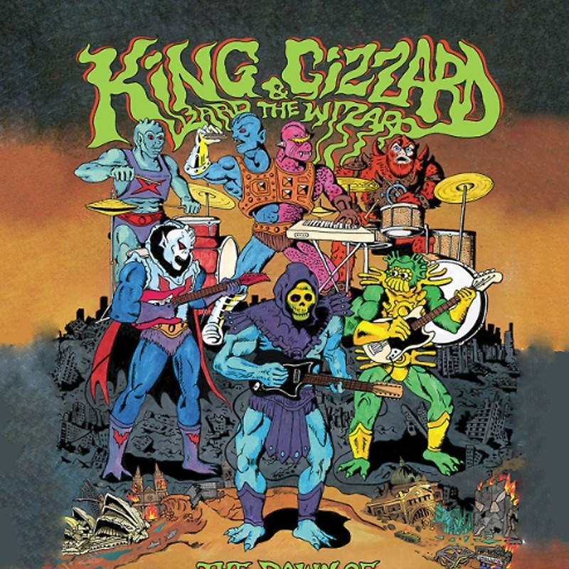 CONCERT REVIEW: KING GIZZARD AND THE LIZARD WIZARD  6/2/18 // THE WARFIELD // SAN FRANCISCO