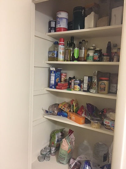 Offended Millennial's Frugal, minimalistic apartment tour: the pantry