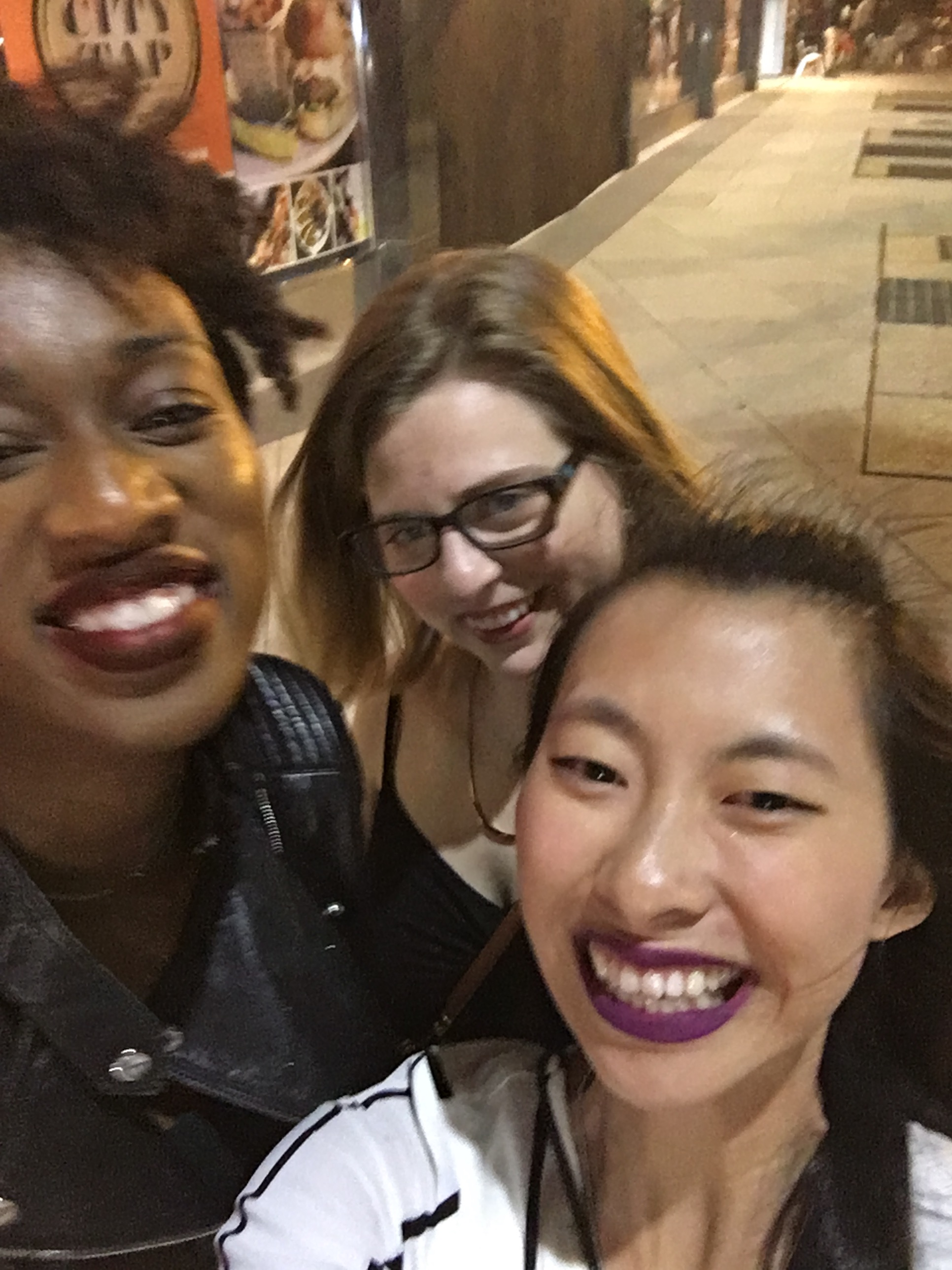 Tuesday shenanigans were had with these lovely, blurry ladies.