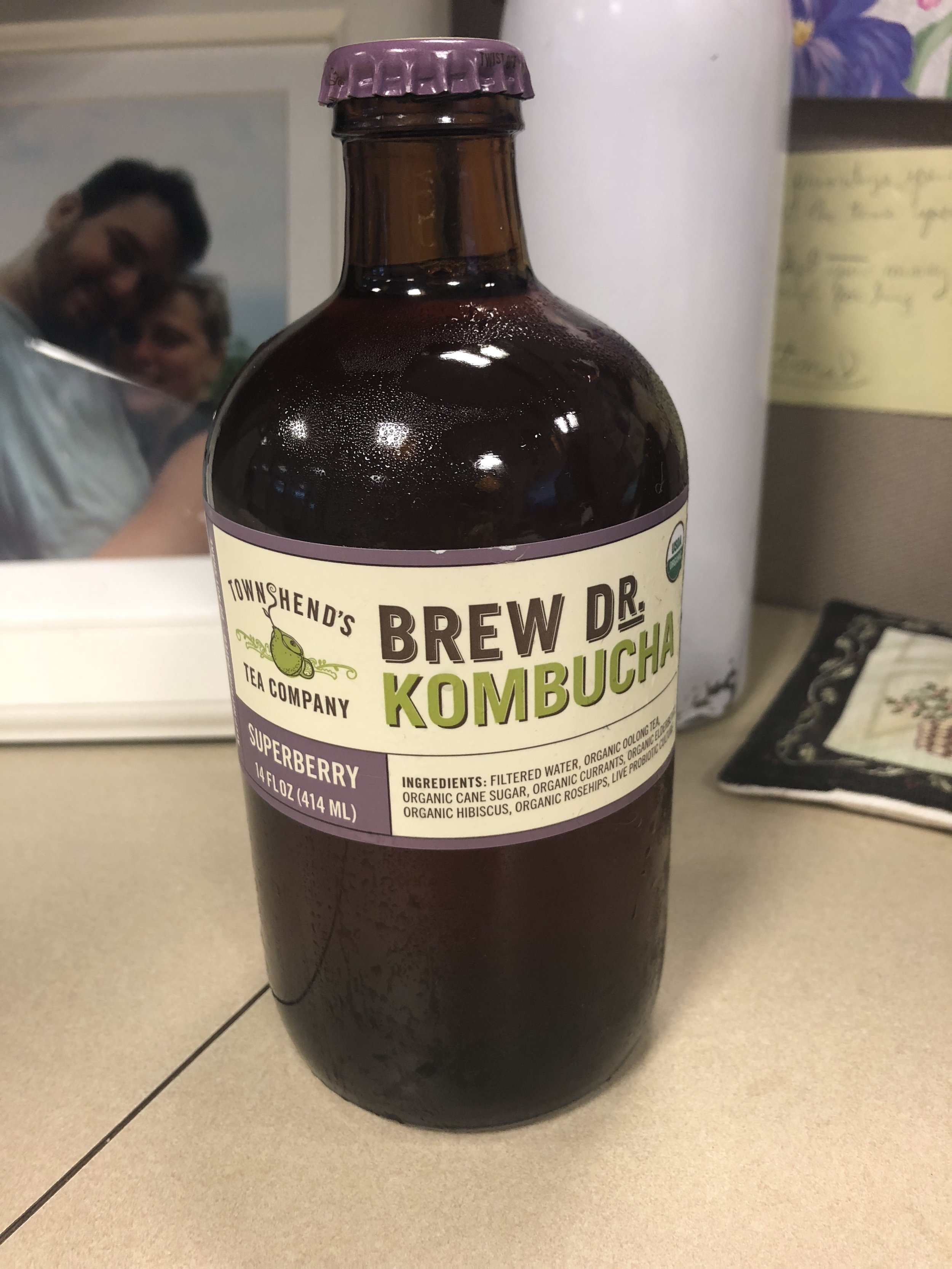 Brew Dr. Kombucha in Superberry flavor #Om101 offended millennial