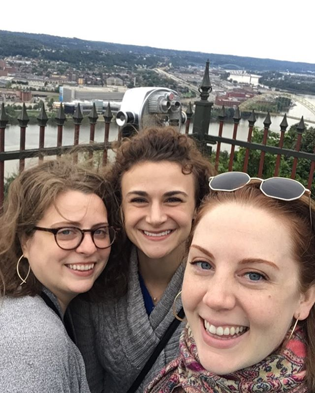 Loved our refreshing girls weekend getaway in #Pittsburgh @sarelizdeng @aallshou  Life sure has taken us in 3 completely different directions. Grateful for our friendship through this journey— past, present & future. . . . . . #girlsweekend #girlfriends #umw #womensupportingwomen #pittsburghsteelers #pitt #allaghenyriver #grateful #femalefriendship #shots #sunset #cityscape