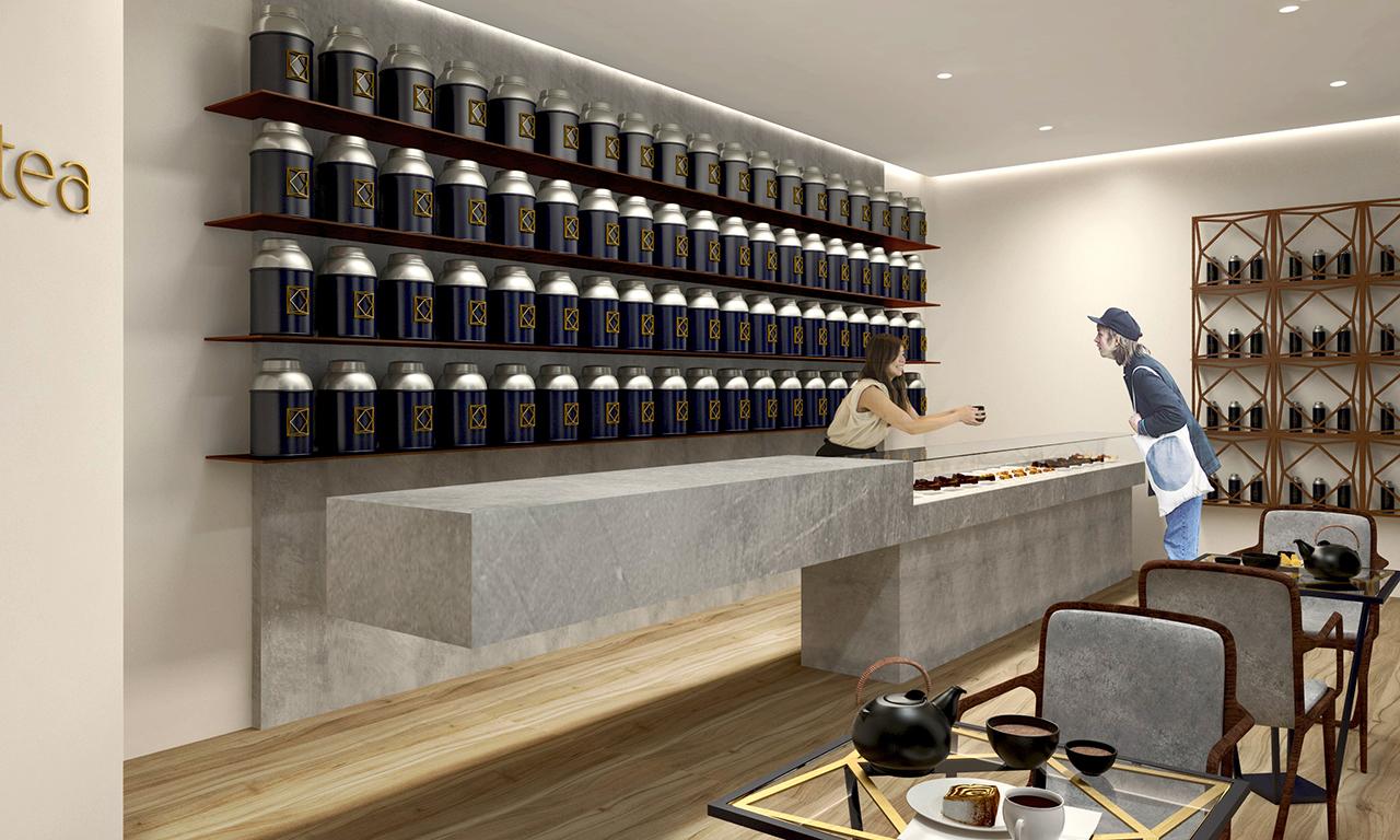 OCHA TEA SHOP  // CAFE DESIGN // RETAIL DESIGN