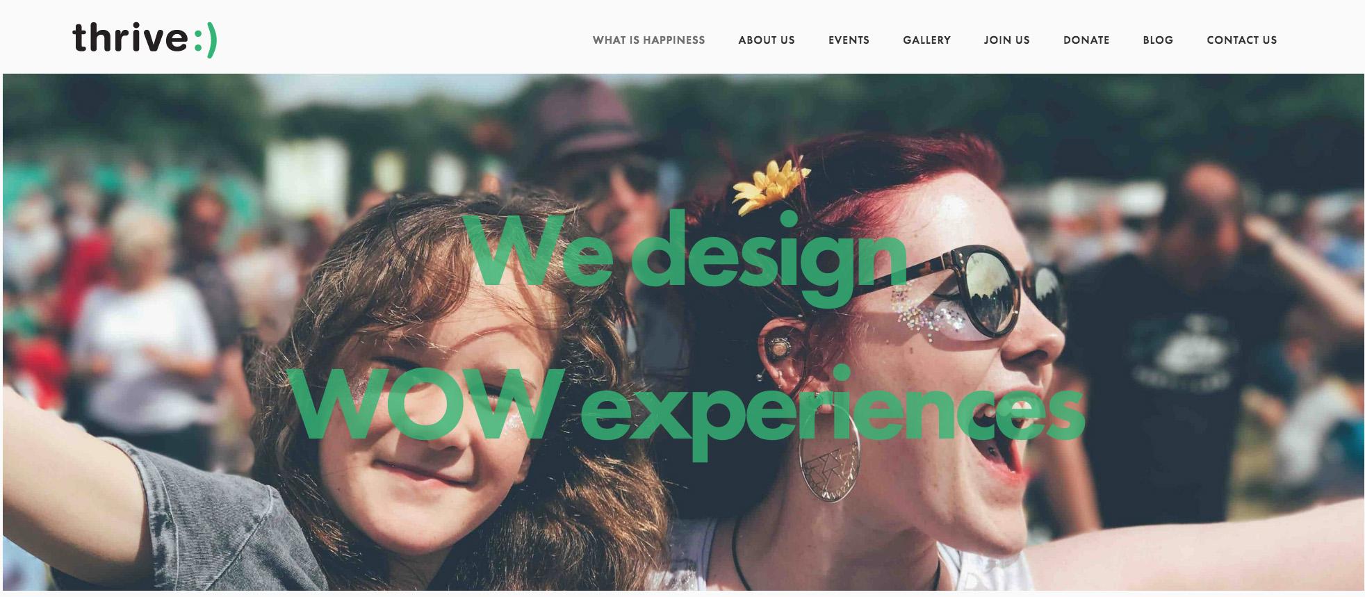 THRIVENOWBOSTON  // GRAPHIC DESIGN // WEB DESIGN