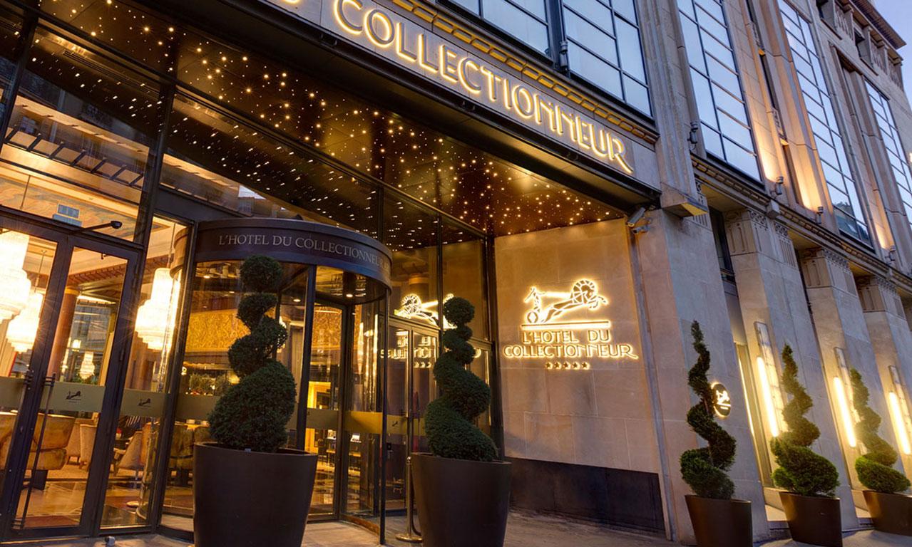 HOTEL DU COLLECTIONNEUR PARIS  // CONCEPT INTERIOR DESIGN