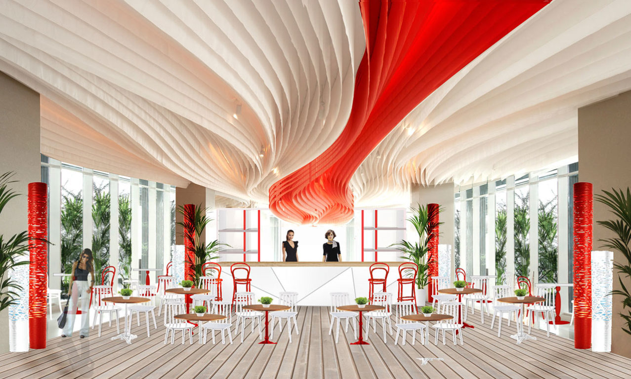 HOTEL MIRAGGIO RAVENNA  // INTERIOR DESIGN