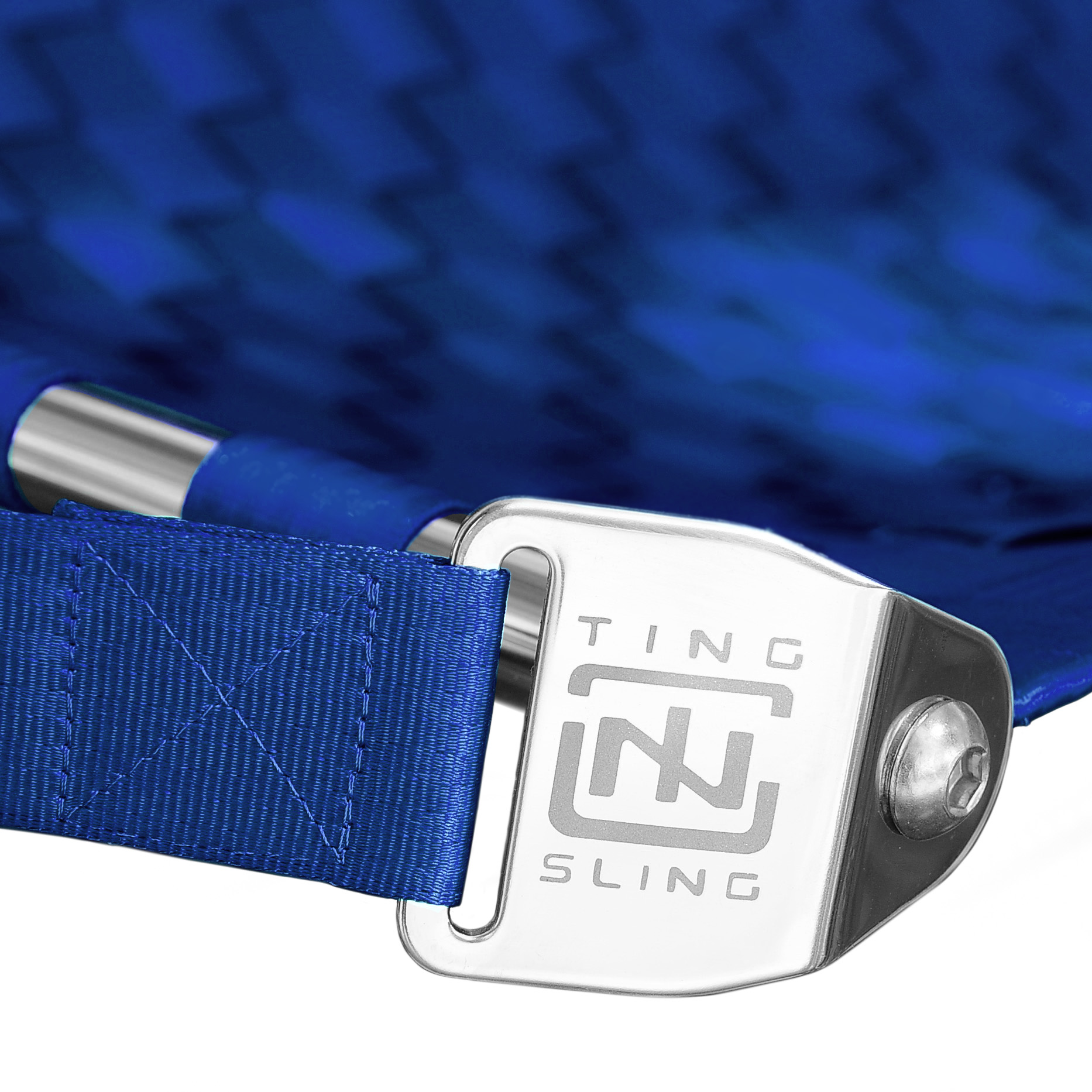 Electric Blue Ting Sling Detail