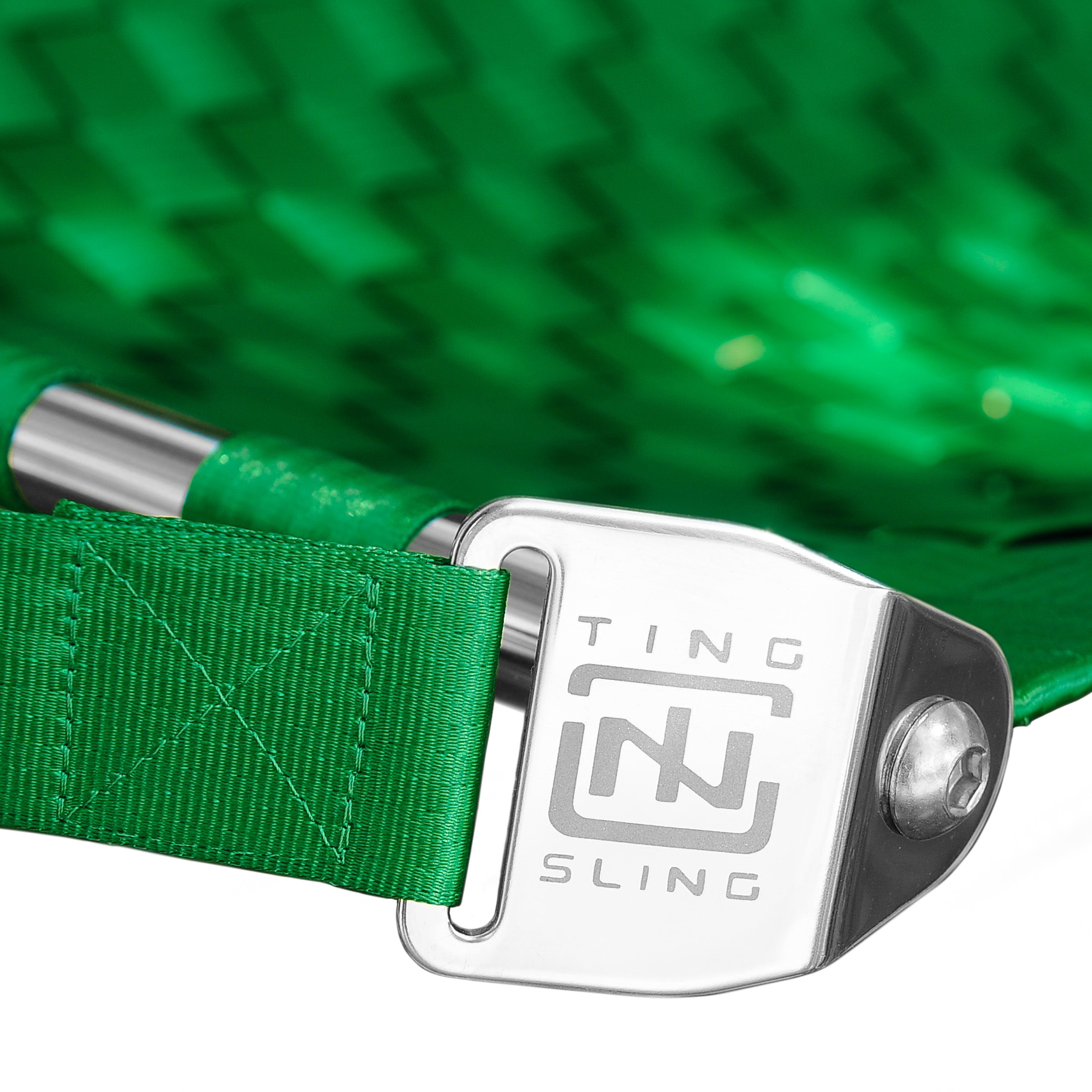 Emerald Green Ting Sling Detail