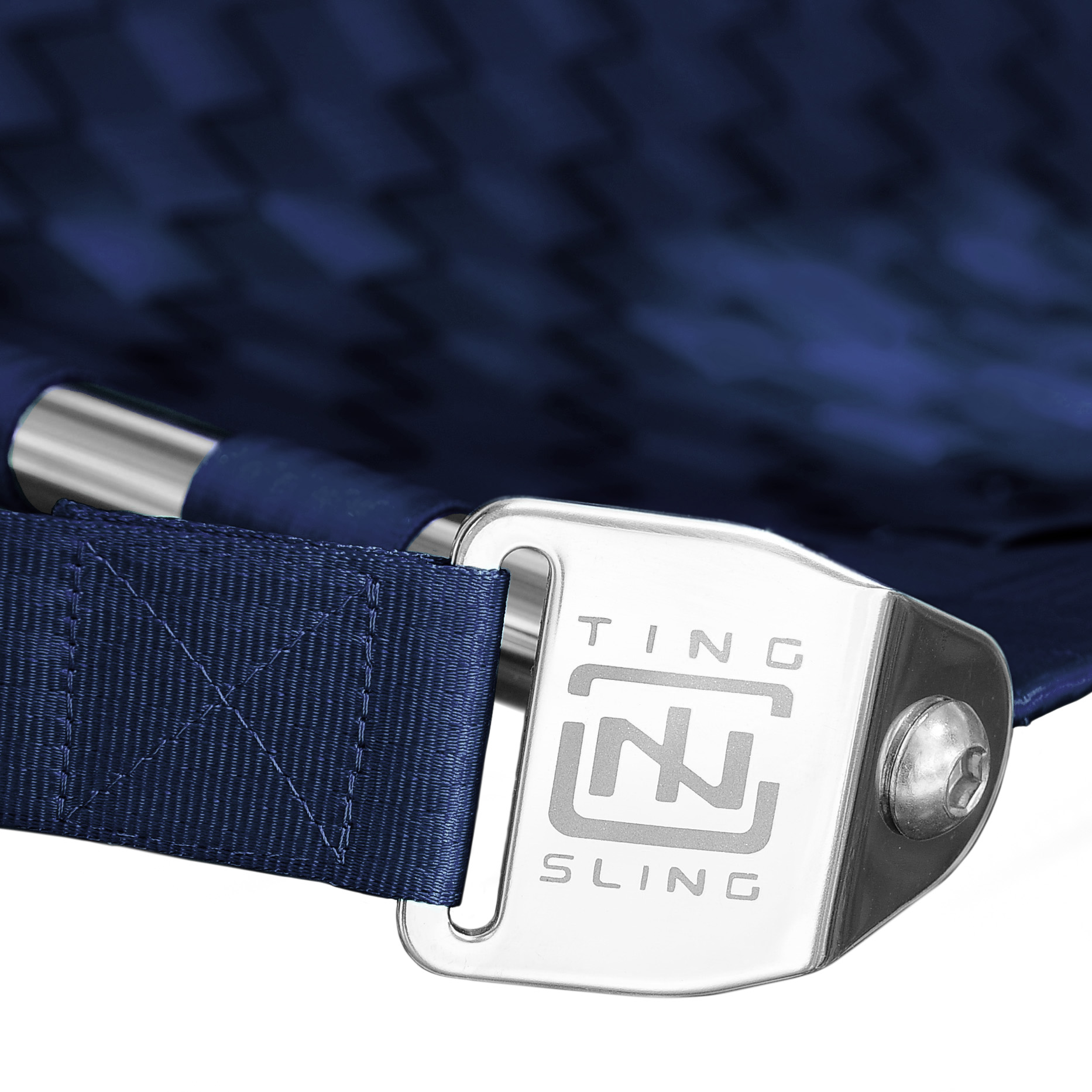 Navy Blue Ting Sling Detail