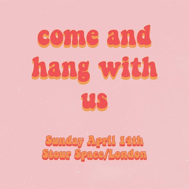 Come & meet us this Sunday at @zinemercado 🌈 we'll be selling some mags & posters! Would love to meet you all 💕