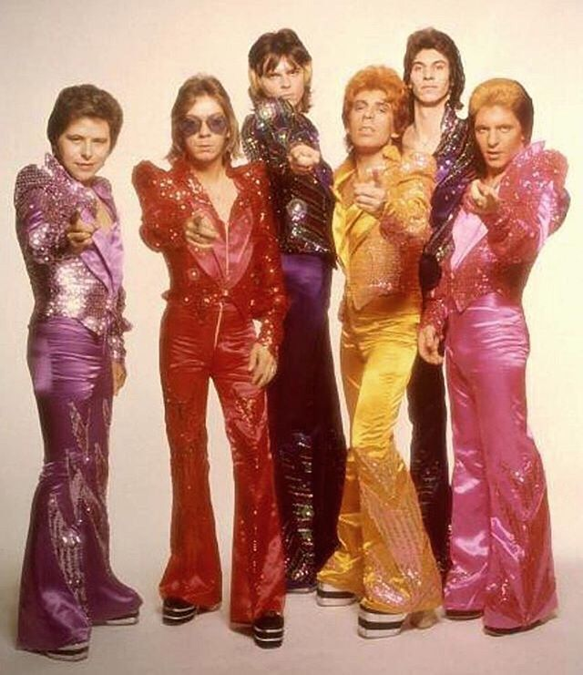 The Glitter Band giving us major outfit inspo 💗