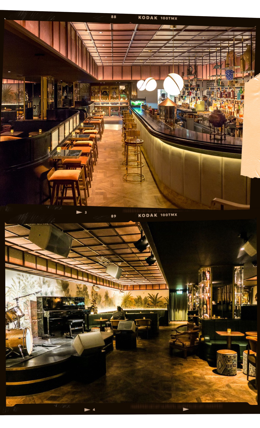 ORIOLE - A slightly fancier option for a night out, the Oriole Bar serves you all that fancy vintage night out vibe. Oriole is known for the live music in style of the New Orleans Jazz or the 50's Rhythm and Blues. Be sure to dress nicely and make a reservation beforehand.Location:East Poultry Avenue, Smithfield Markets, EC1A 9LH