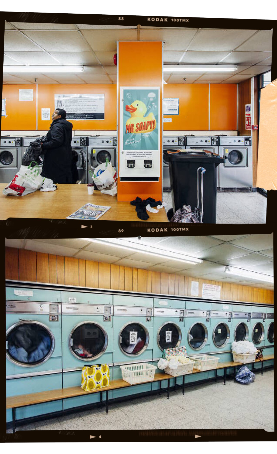 BARBICAN LAUNDERETTE - Launderettes are a quite famous spot for photos in London; however, it is said that the Barbican Launderette is the one to see. The launderette looks as if the time stopped, with wooden wall panels, teal washing machines and accents of vibrant oranges. Be sure to spot the funky Mr.Soapy detergent dispenser.Location:2 Fann Street, EC2Y 8BR