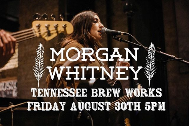 Playing a little set this Friday at @tnbrewworks 💃🏽 5 PM, would love to see ya thurr! - - - - - #morganwhitneymusic #tennesseebrewworks #nashvillemusic #livemusic #singer #songwriter #girlswhorock