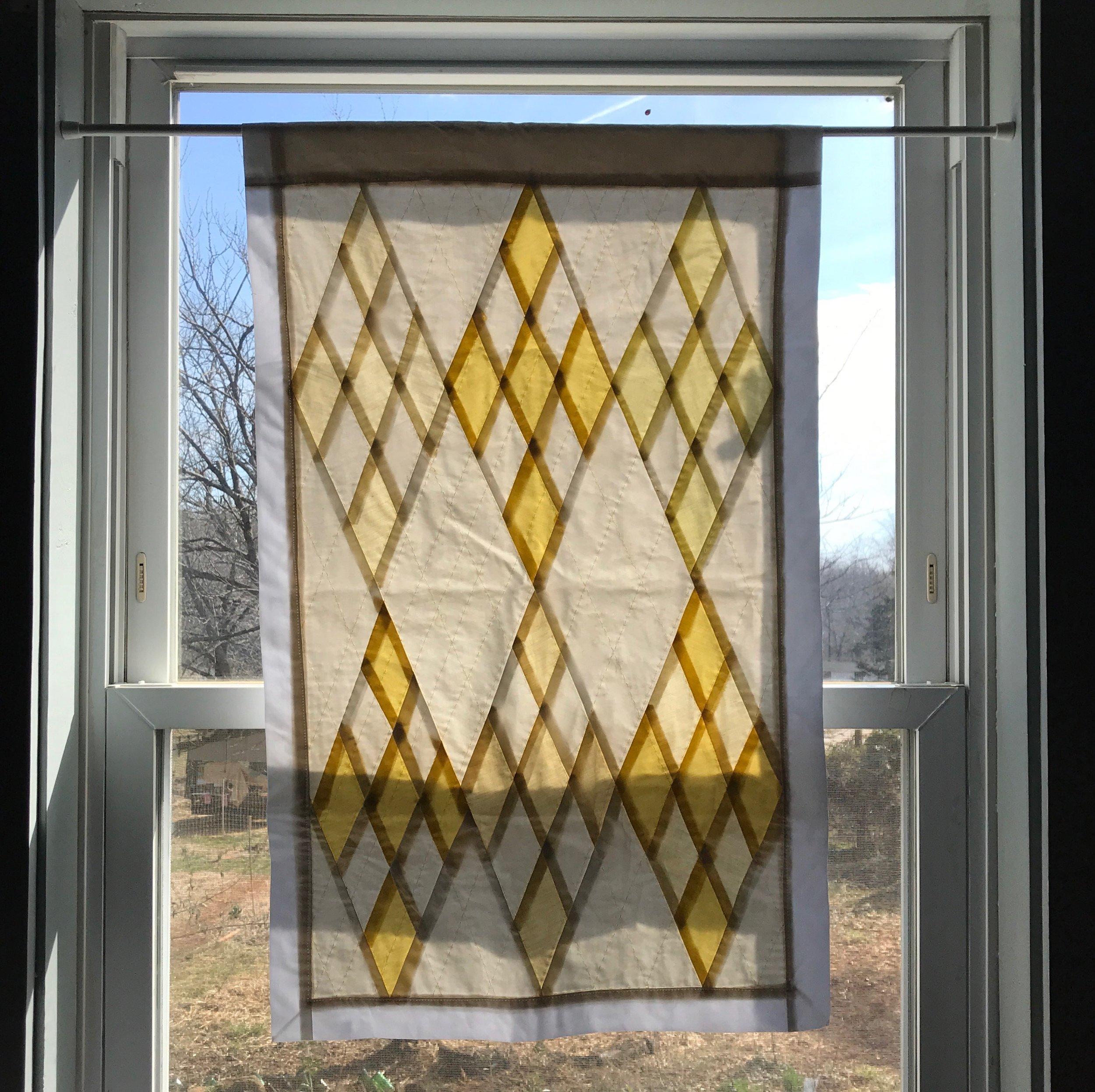 WINDOW QUILT, NO. 2 - $140