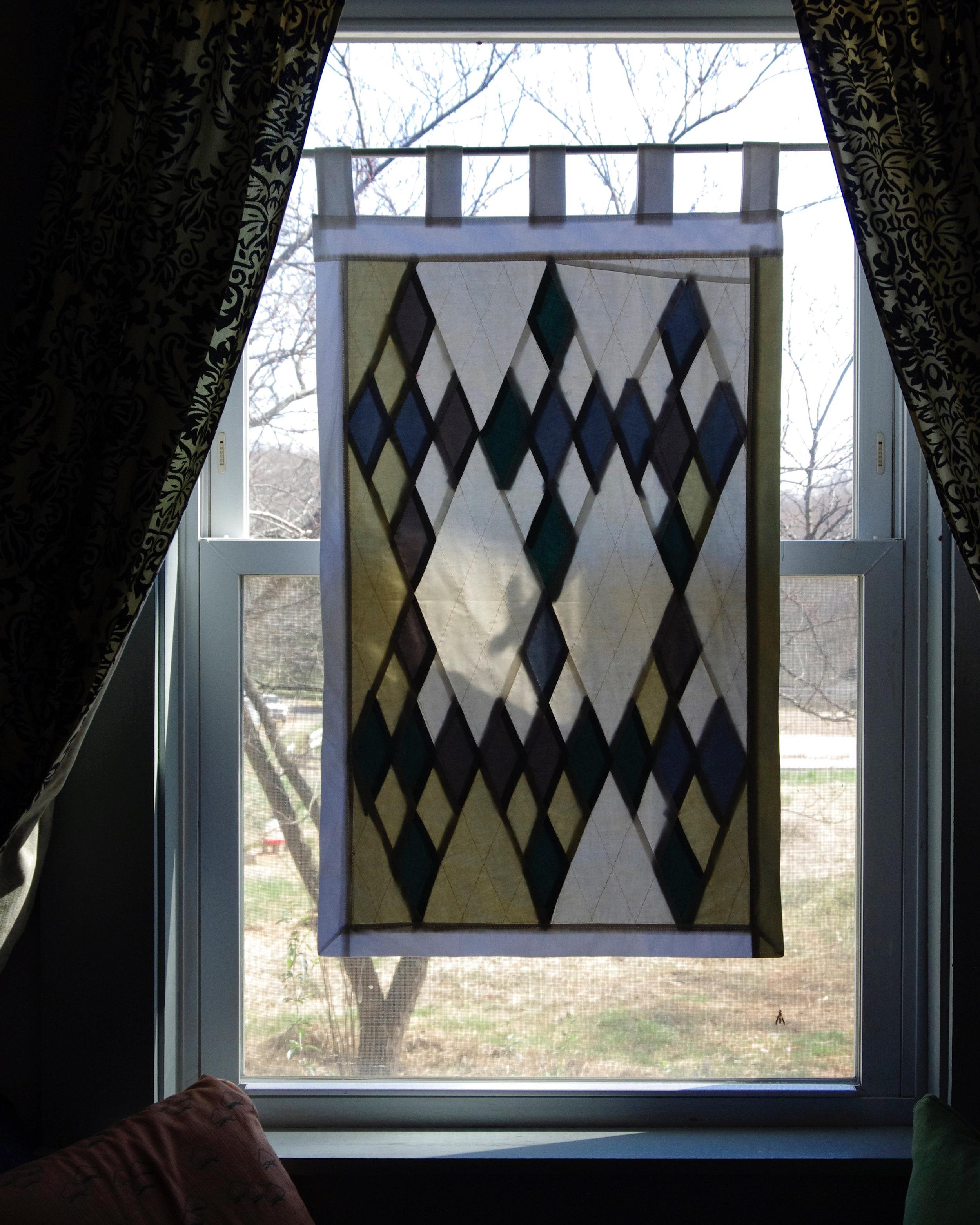 WINDOW QUILT, NO. 1 - $140