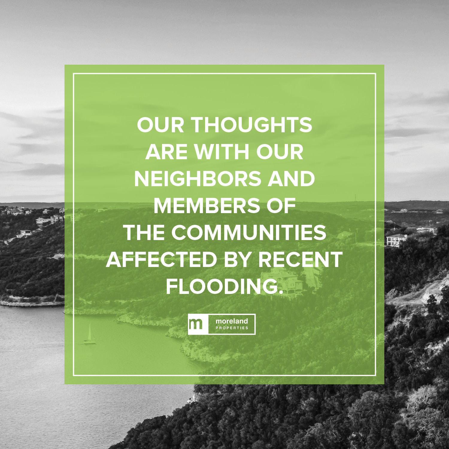 To learn more about the Austin area flooding, visit the  Austin American Statesman website.
