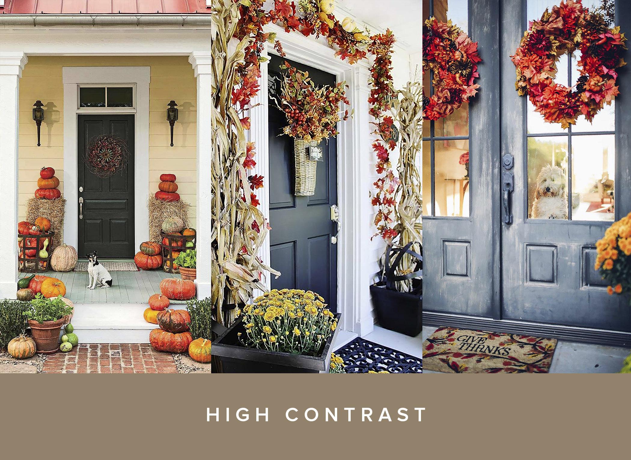 High Contrast front door pumpkin inspiration .jpg