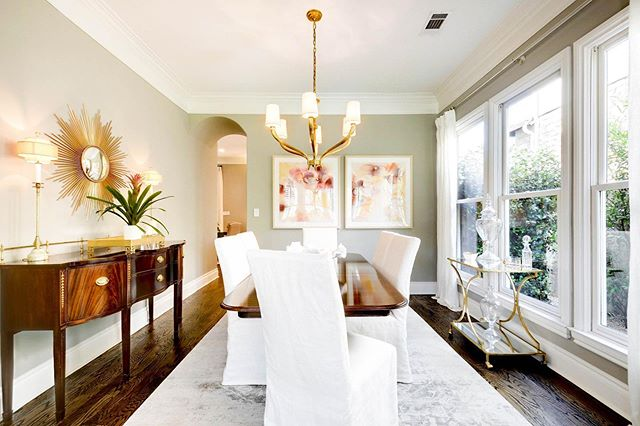 Elegant Tarrytown Home | Tastefully updated by a seller with an eye for design, this home boasts trendy finishes and timeless style. Sun-soaked interiors are complete with red oak wood floors, custom drapery, countless recent updates and an outdoor space with a private pergola for dinner parties. • 🔑 2801 Warren | $1,325,000 🏡 4 BR | 2.5 BA | 2 LIV 📩 Elsa Decker | 512-771-6831 | elsadecker@moreland.com