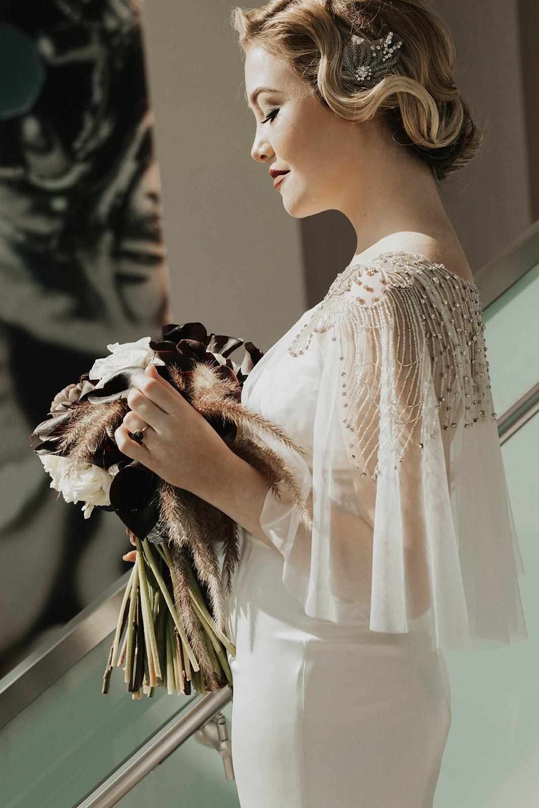 Amanda James Bridal NYE Art Deco Pant Cape Silk (8).jpg