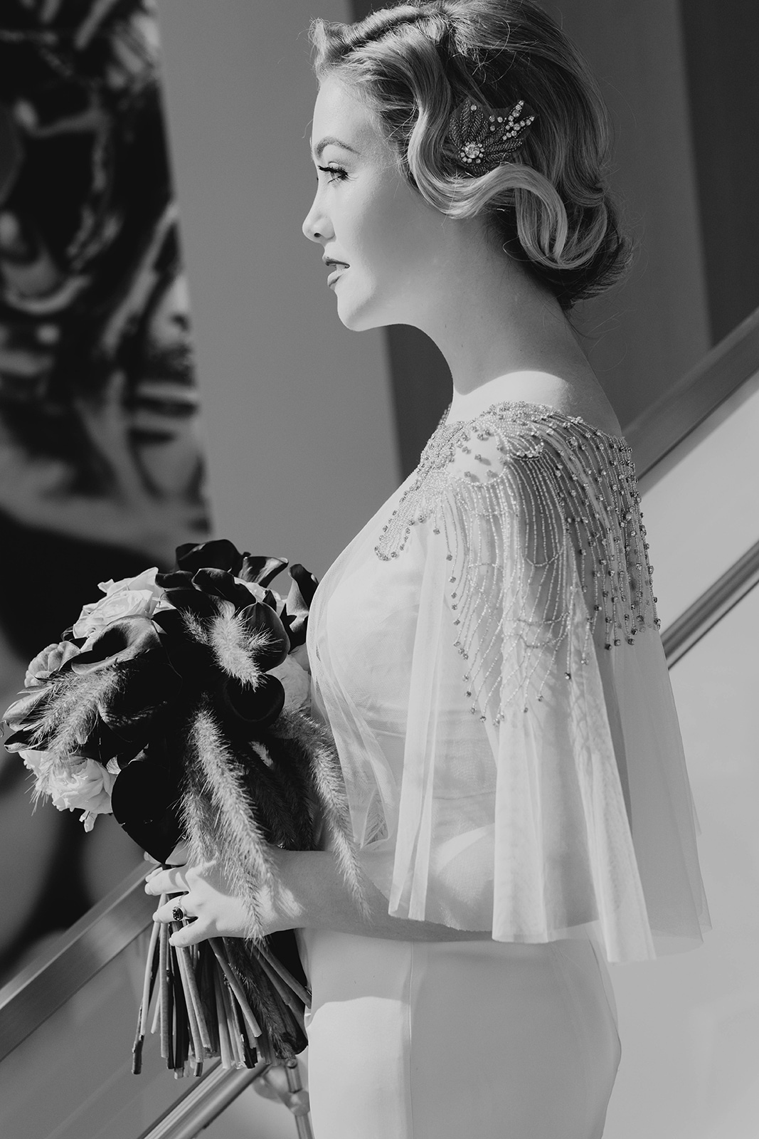 Amanda James Bridal NYE Art Deco Pant Cape Silk (9).jpg