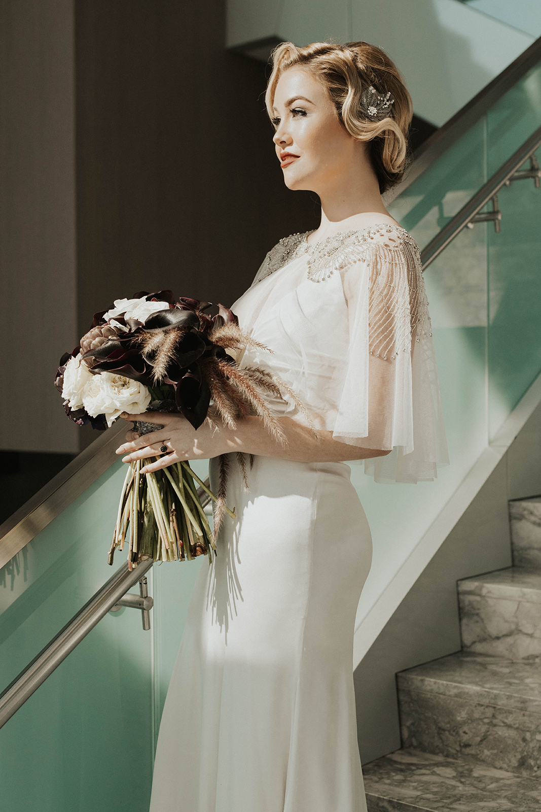 Amanda James Bridal NYE Art Deco Pant Cape Silk (10).jpg