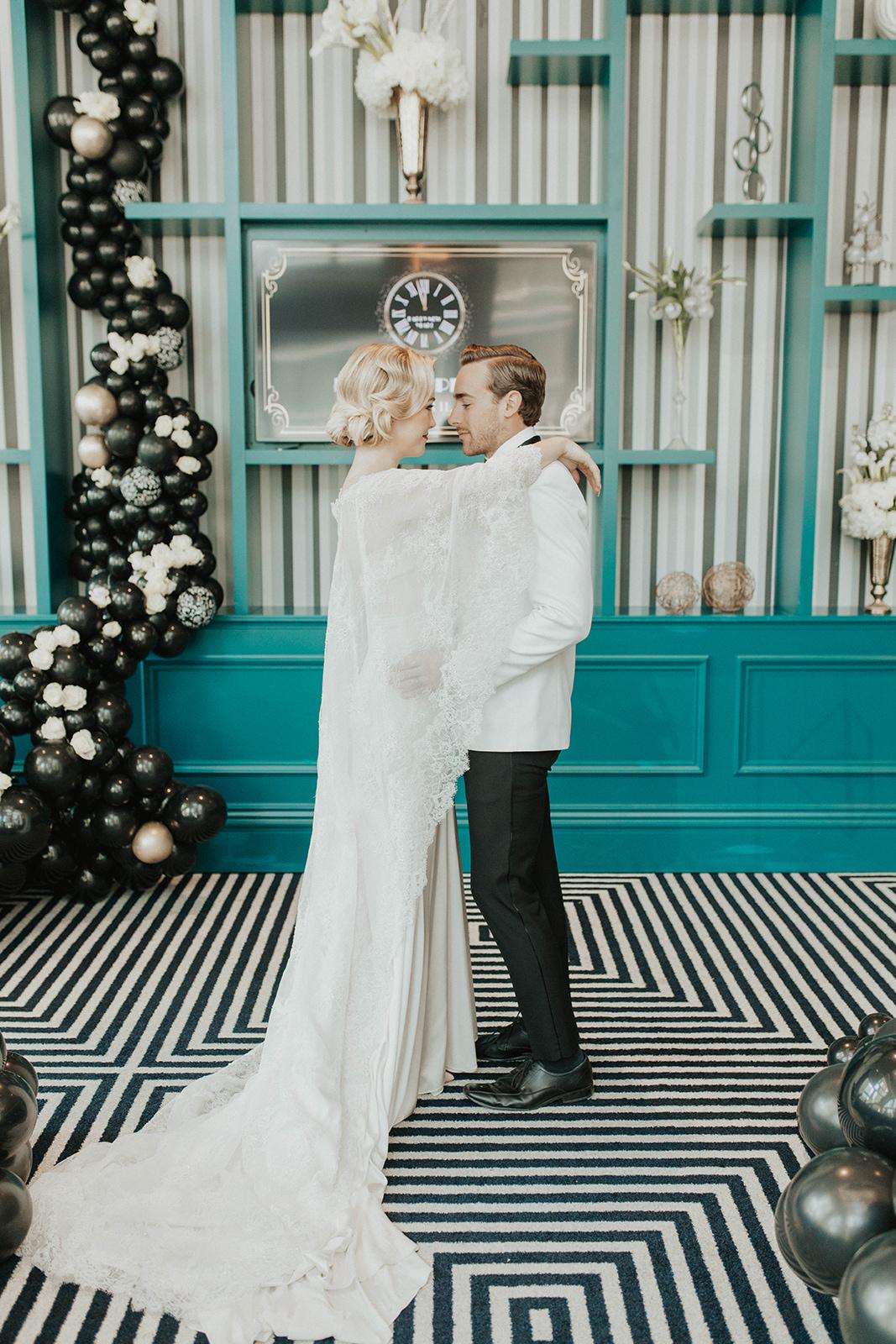 Amanda James Bridal NYE Art Deco Pant Cape Silk (21).jpg