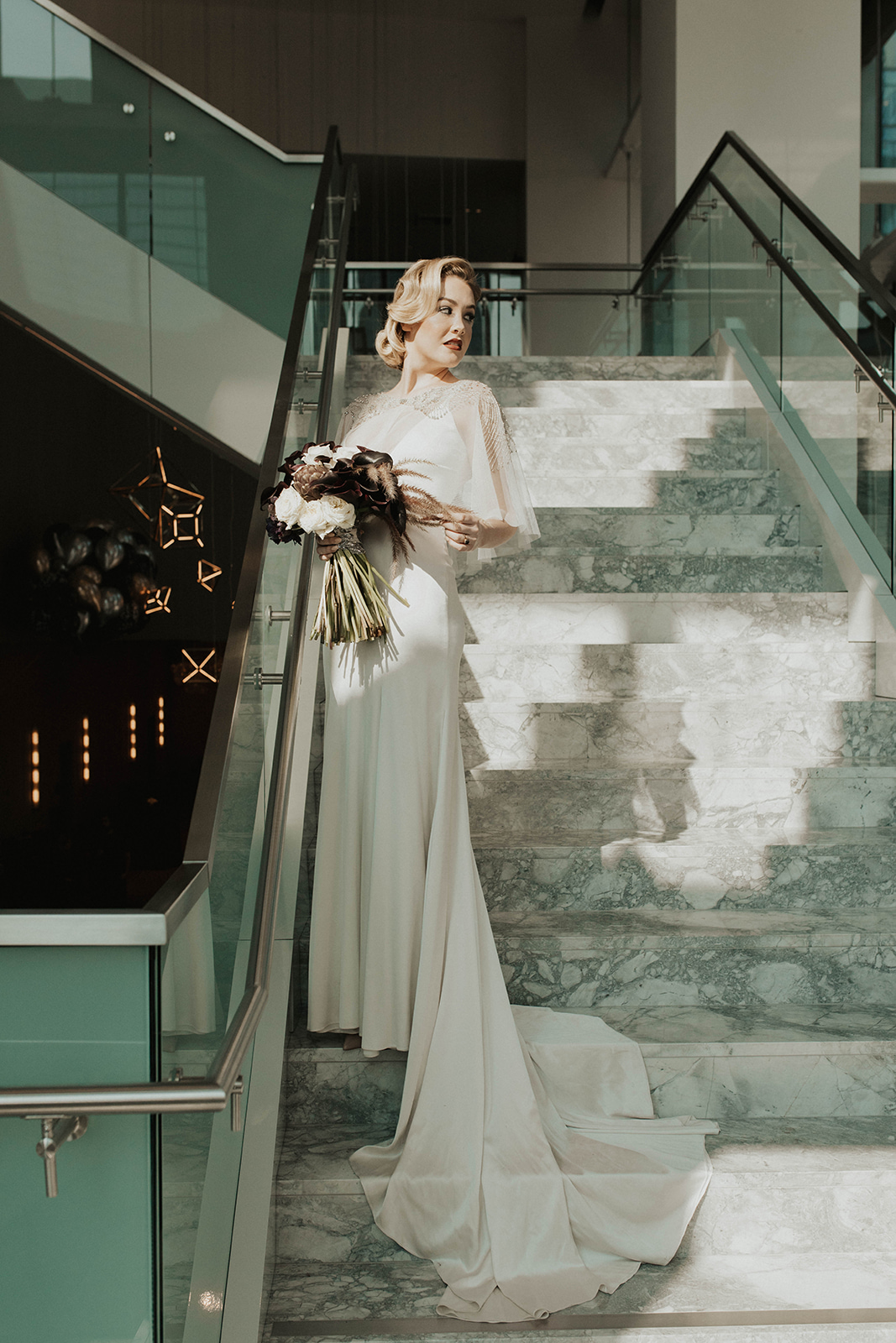 Amanda James Bridal NYE Art Deco Pant Cape Silk (6).jpg