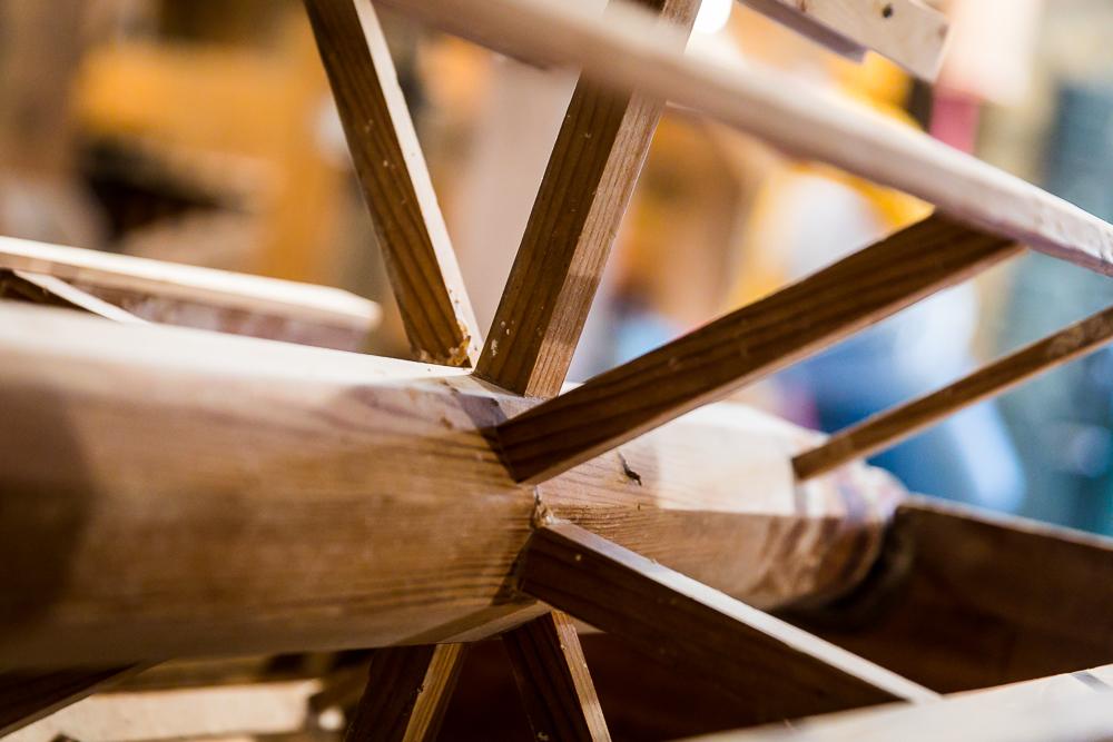 Inside sifter-bolter