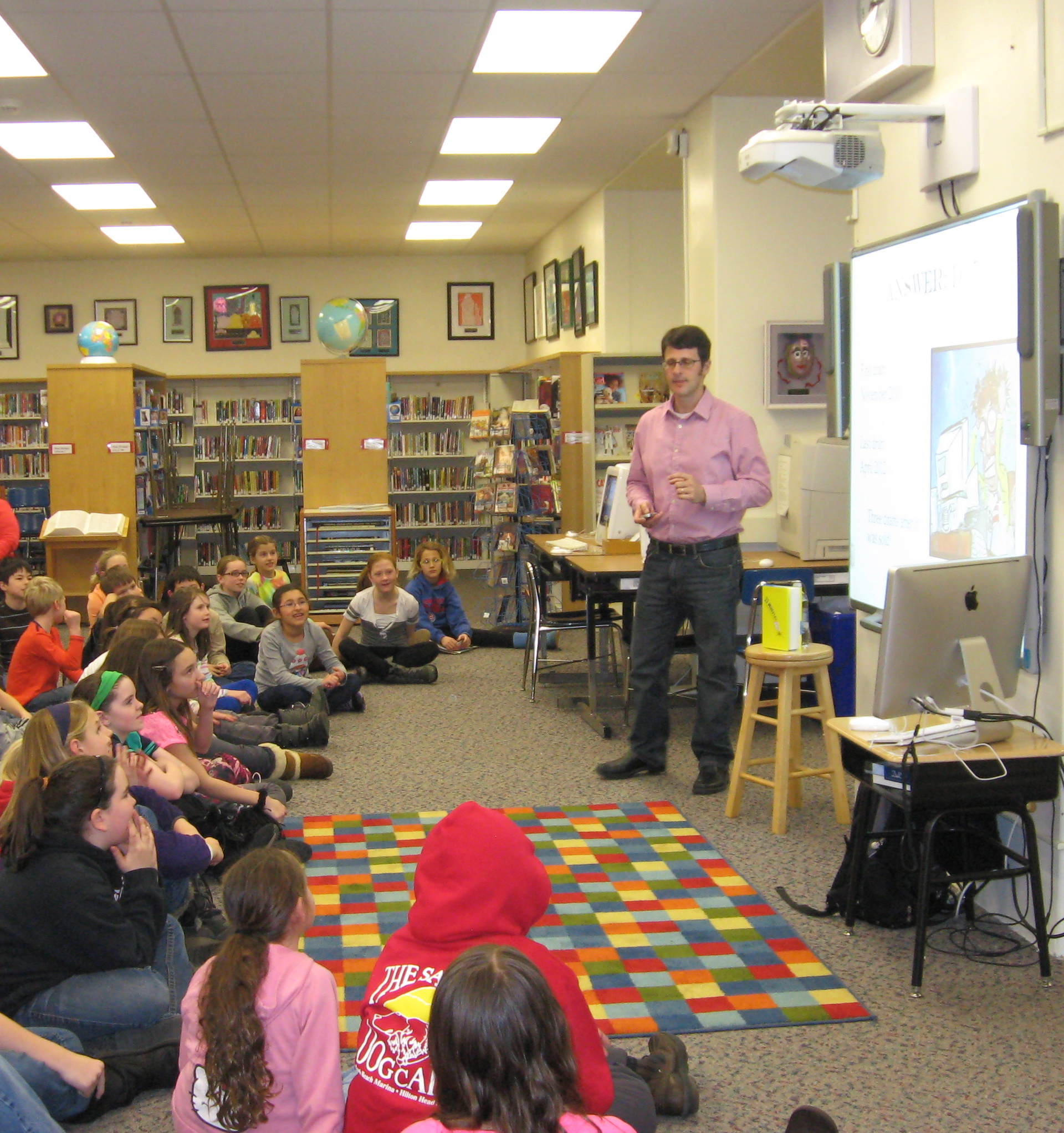 Read Testimonials About Todd Hasak-Lowy School Visits