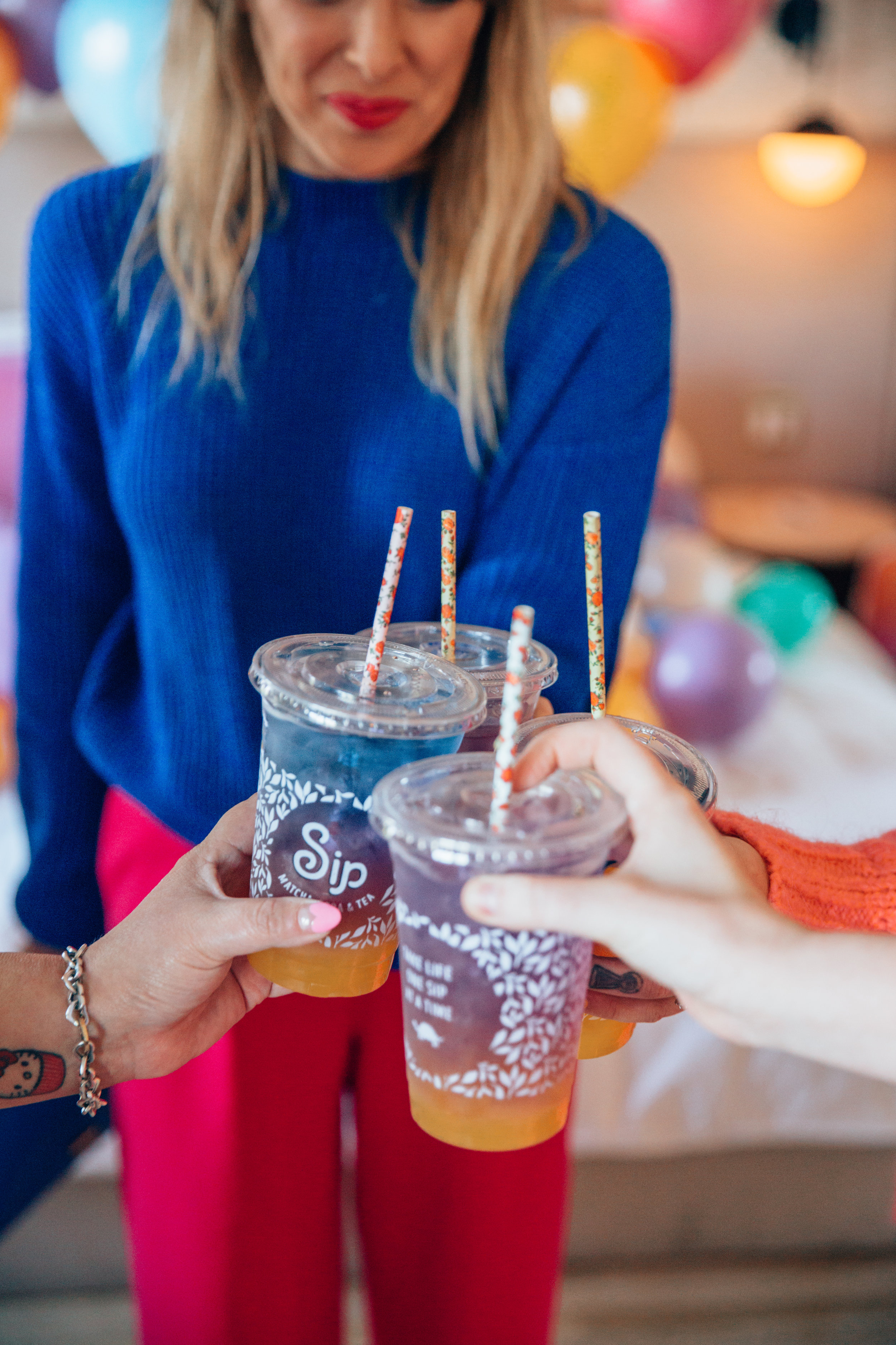 Cheers to the perfect sip of sunset from  Sip !