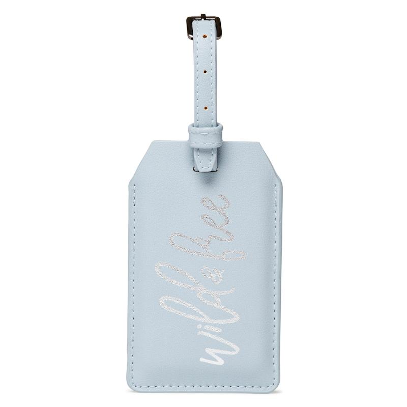 Power Luggage Tag - Wild & Free -