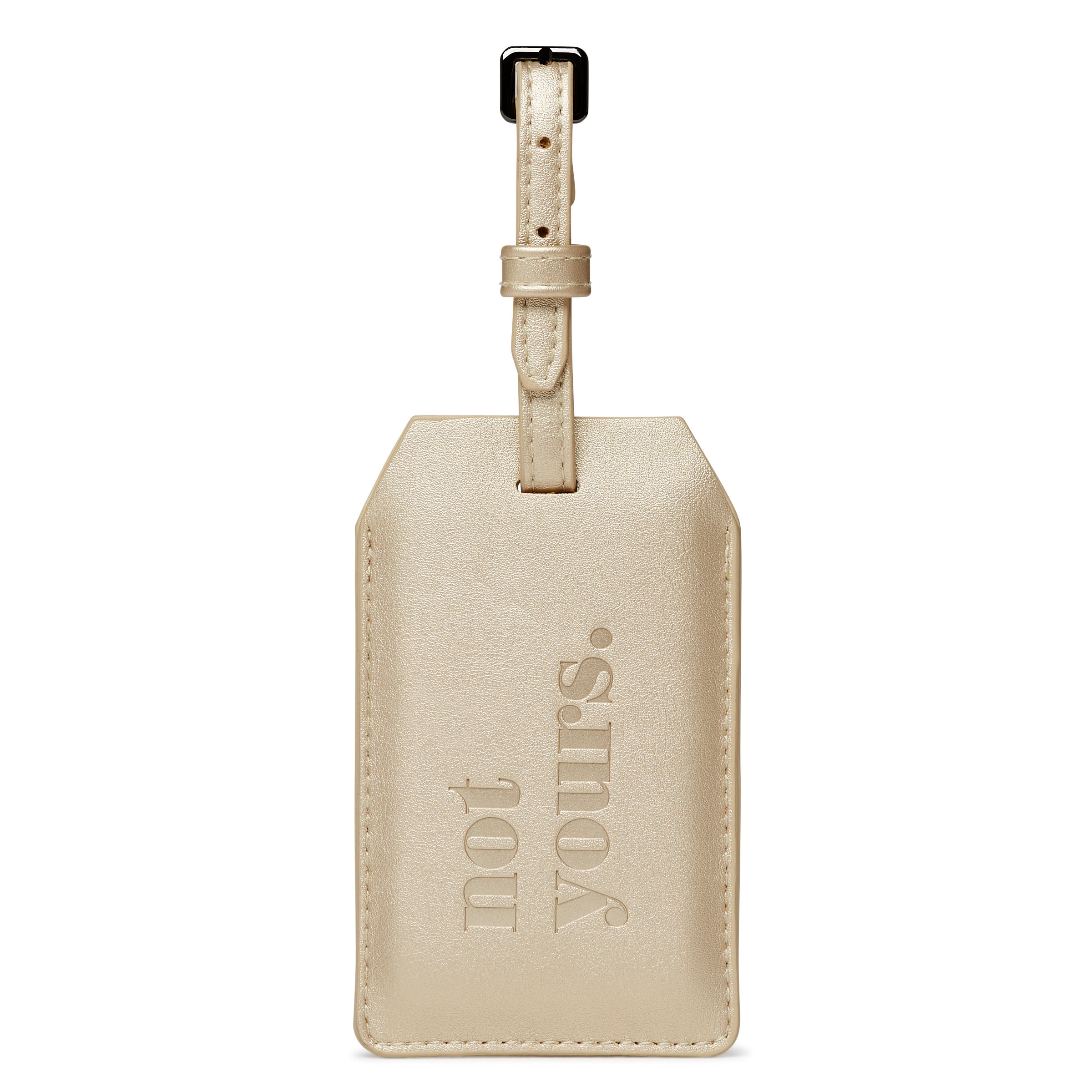 Power Luggage Tag - Not Yours -