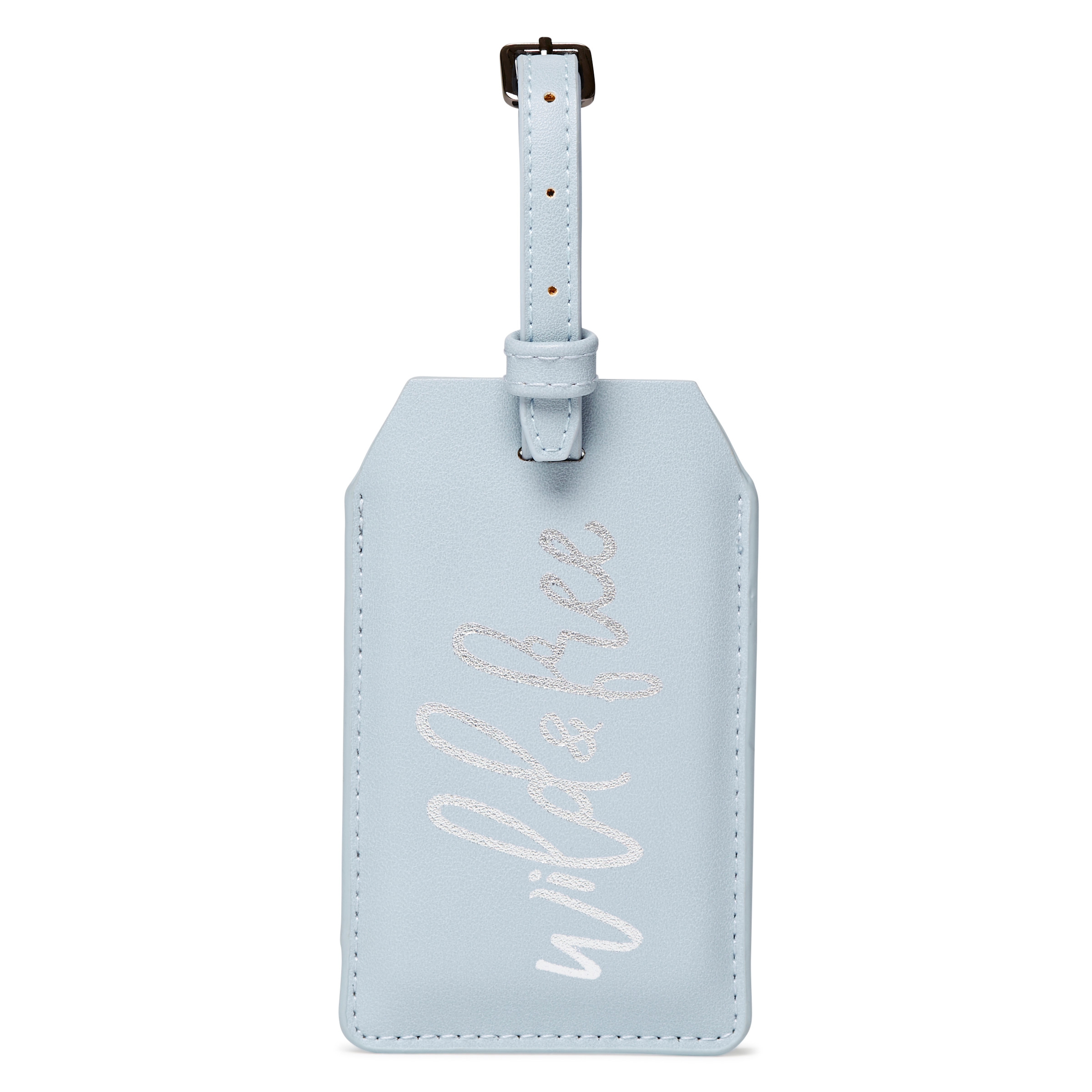 Power Luggage Tag - Wild & Free -