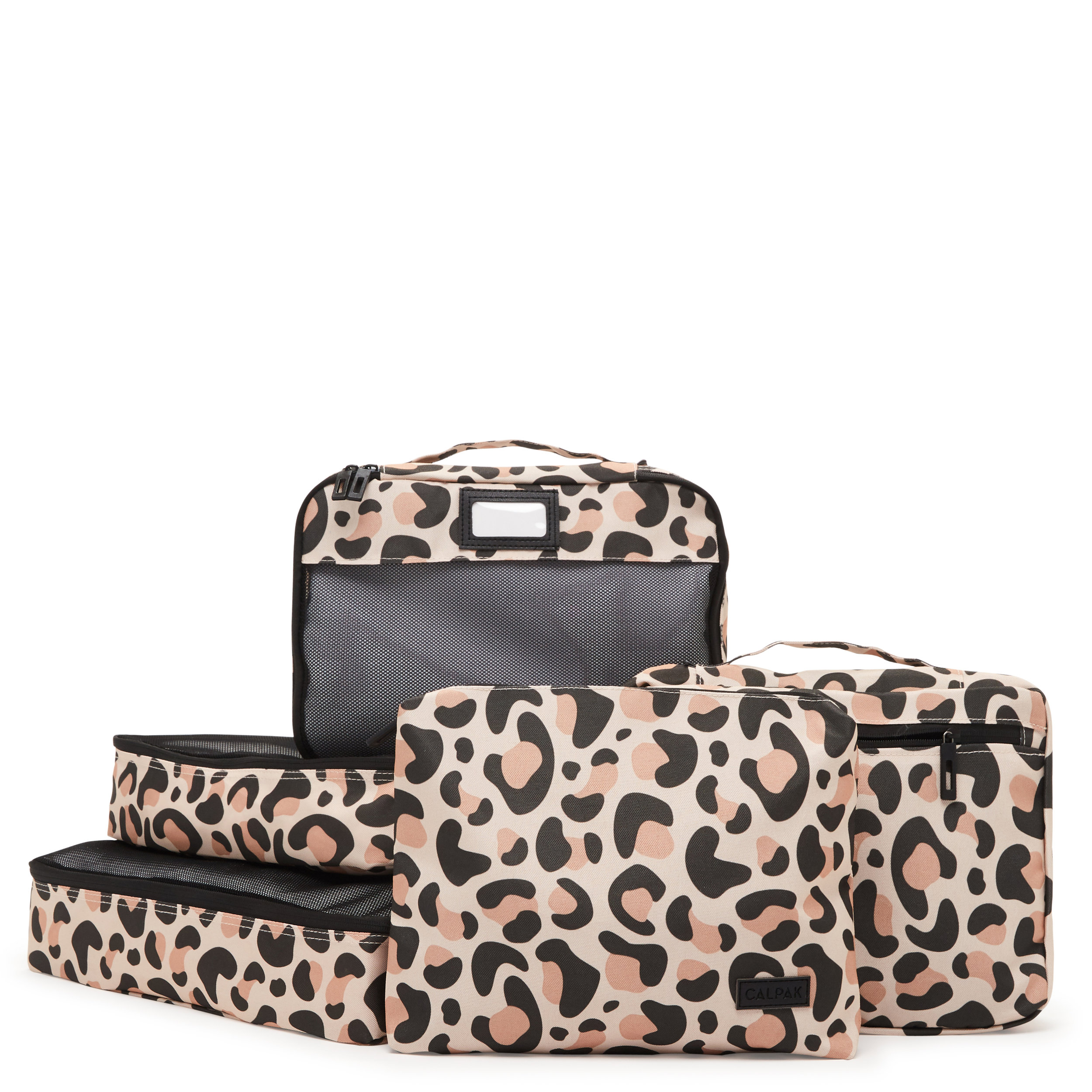 Packing Cubes - Leopard - 5 Piece Set -