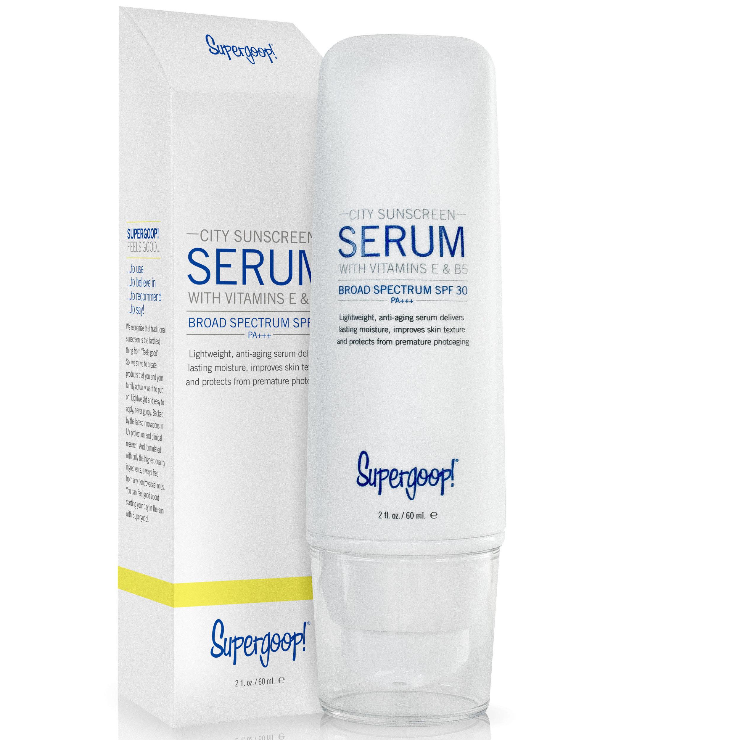 Supergoop Sunscreen Serum (SPF 30) - Shelby: