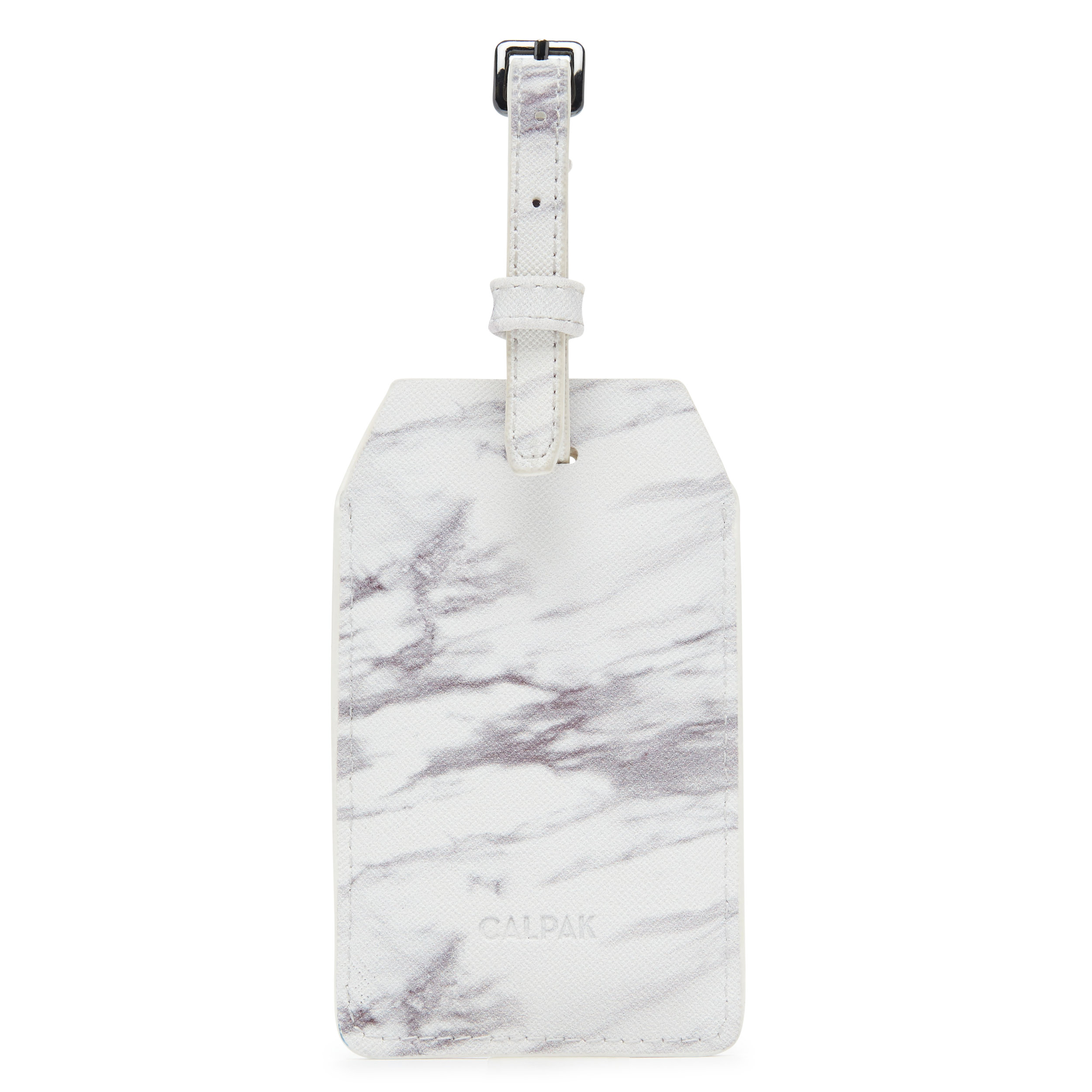 Power Luggage Tag - Milk Marble -