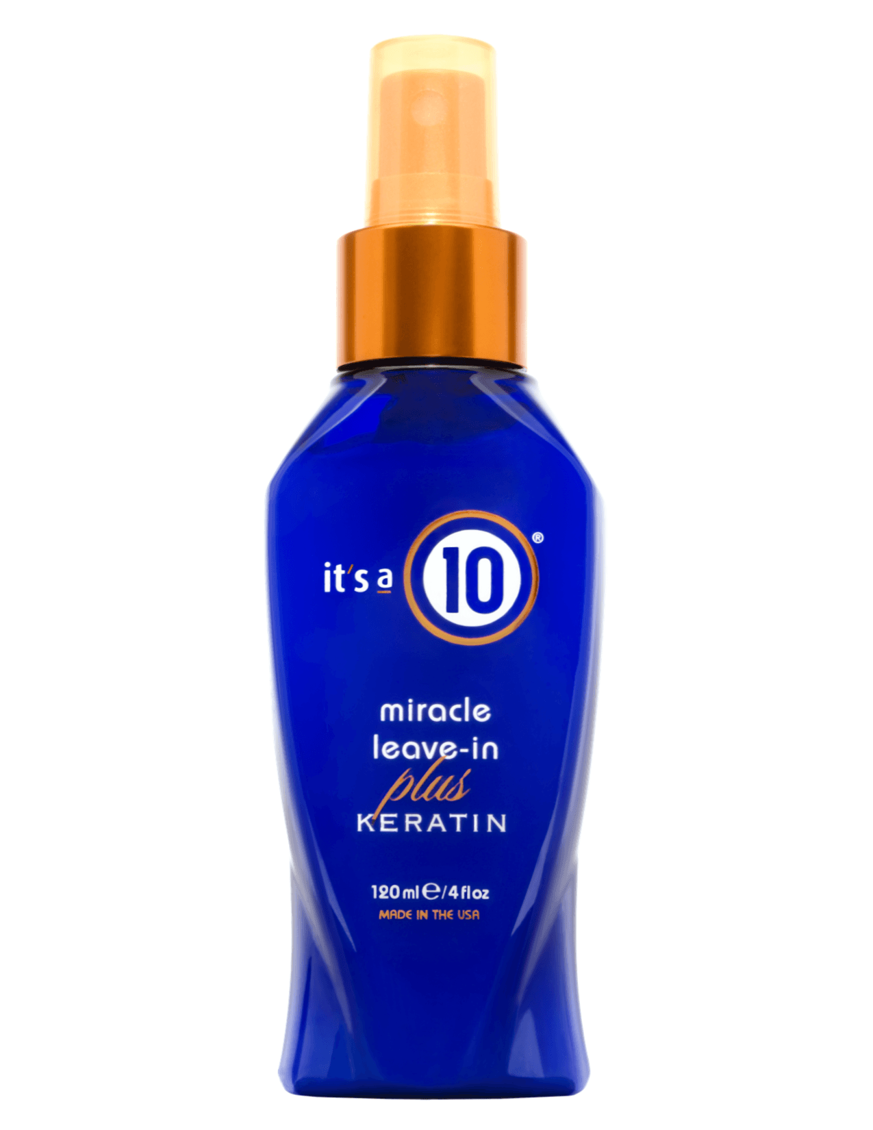 It's A 10 Miracle Leave-In Plus Keratin Spray - Jeannie: LOVE THIS. I have super dry damaged hair and always need to moisturize it. As soon as I come out of the shower I spray it in and leave it! This allows me to not feel guilty about using the not-so-moisturizing hotel shampoo and conditioner.$12.33