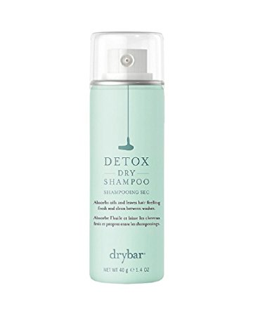 Drybar Detox Dry Shampoo Mini - Sam: In my opinion, this is the best smelling, lightest and cleanest dry shampoo ever! It's a perfect refresher for your roots, whether you apply it in the morning or on-the-go.$13.00