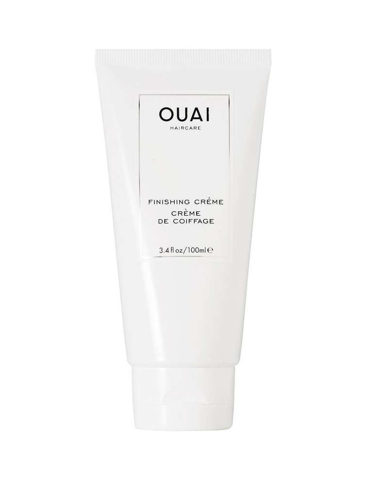 Ouai Finishing Cream - Shelby: If I had to leave all other products at home and only take one, it would be this one because I can put it on wet hair, dry hair, already-styled hair, and have beautiful results.$24.00