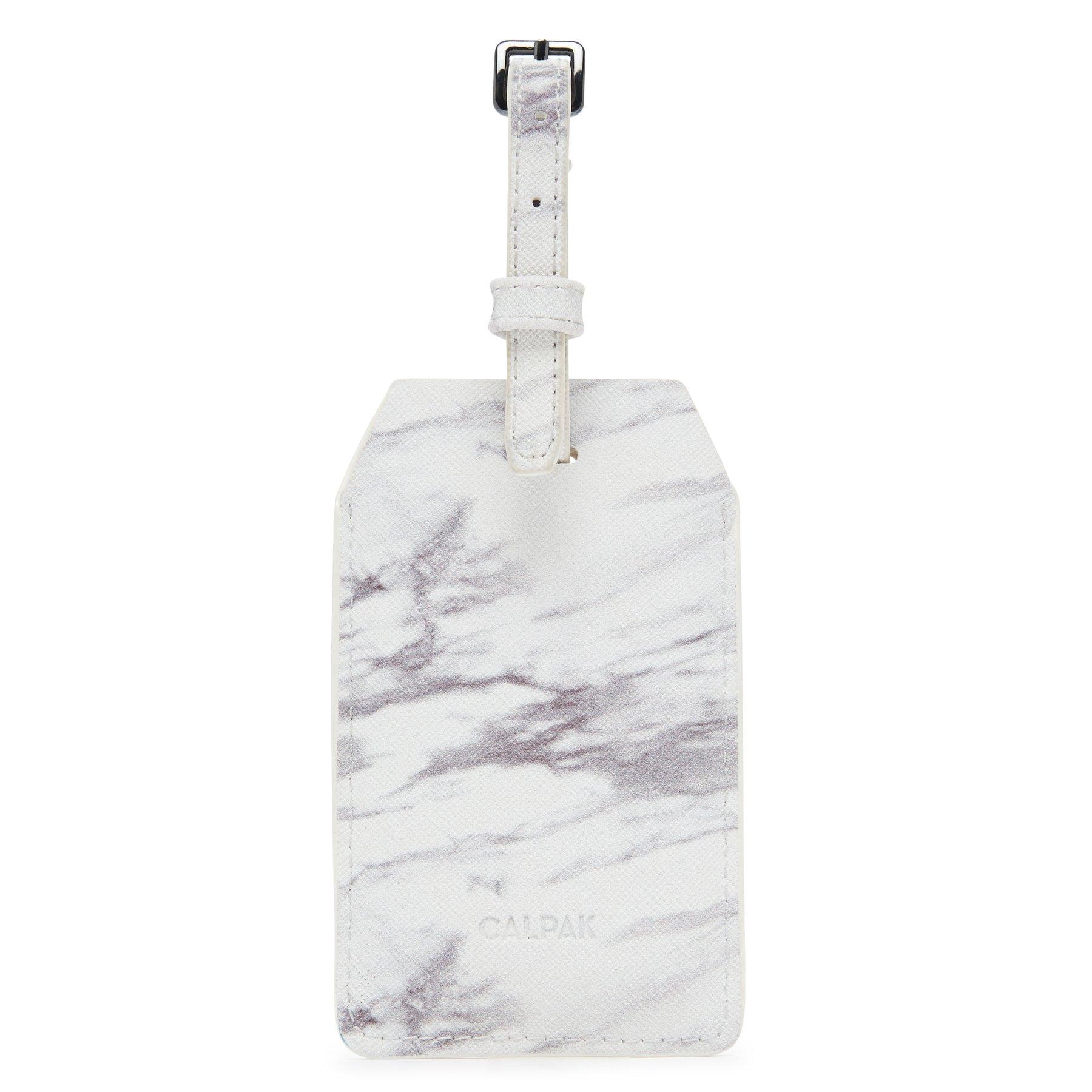 Power Luggage Tag - Milk Marble -