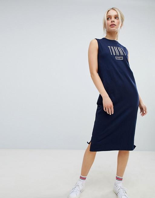 Tommy Jeans Tank Midi Dress