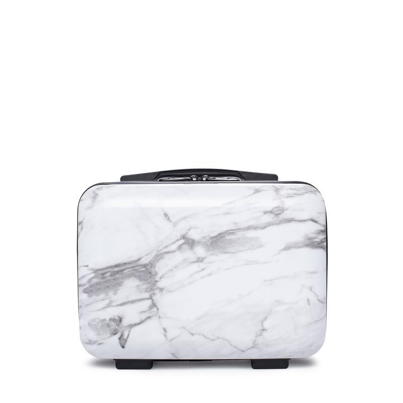 Vanity Case - Milk Marble
