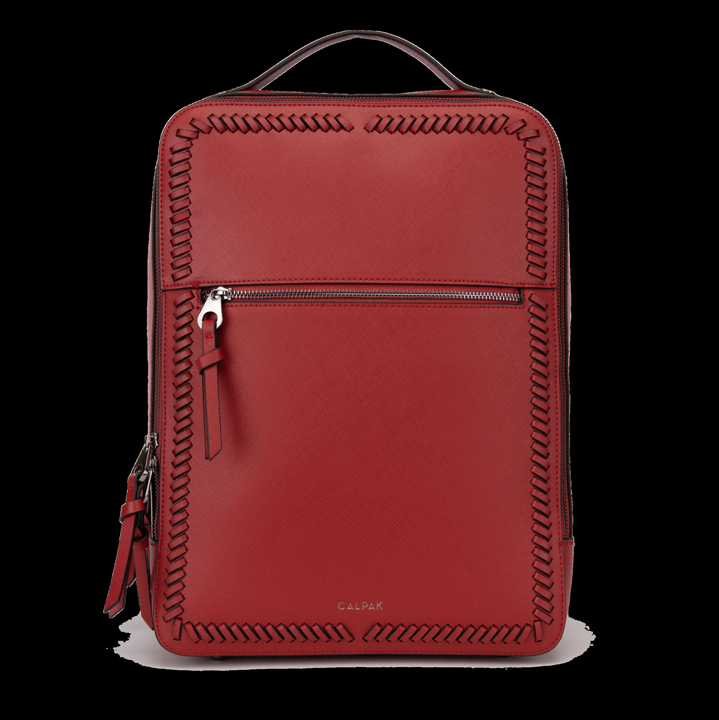 Kaya Laptop Backpack - Red -