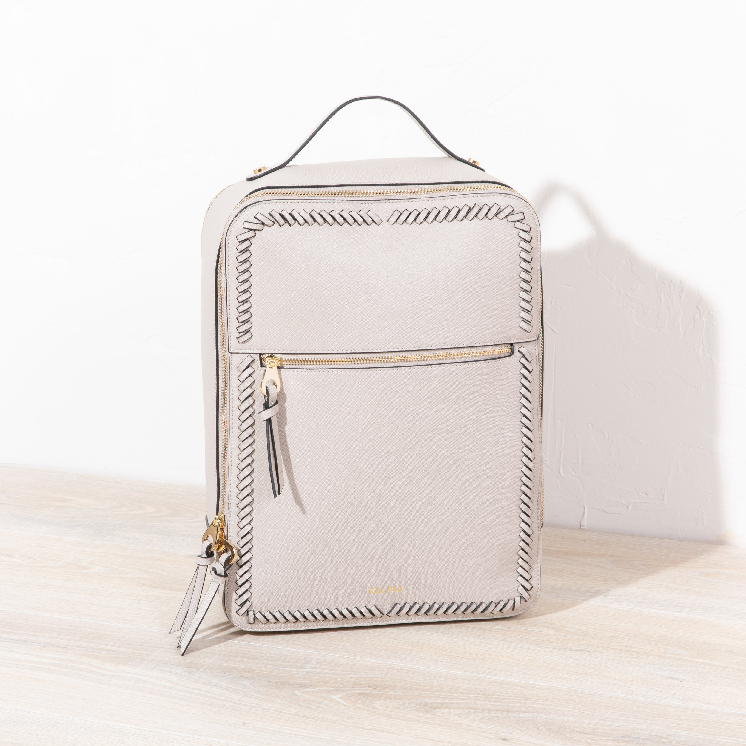Kaya Laptop Backpack - Stone -
