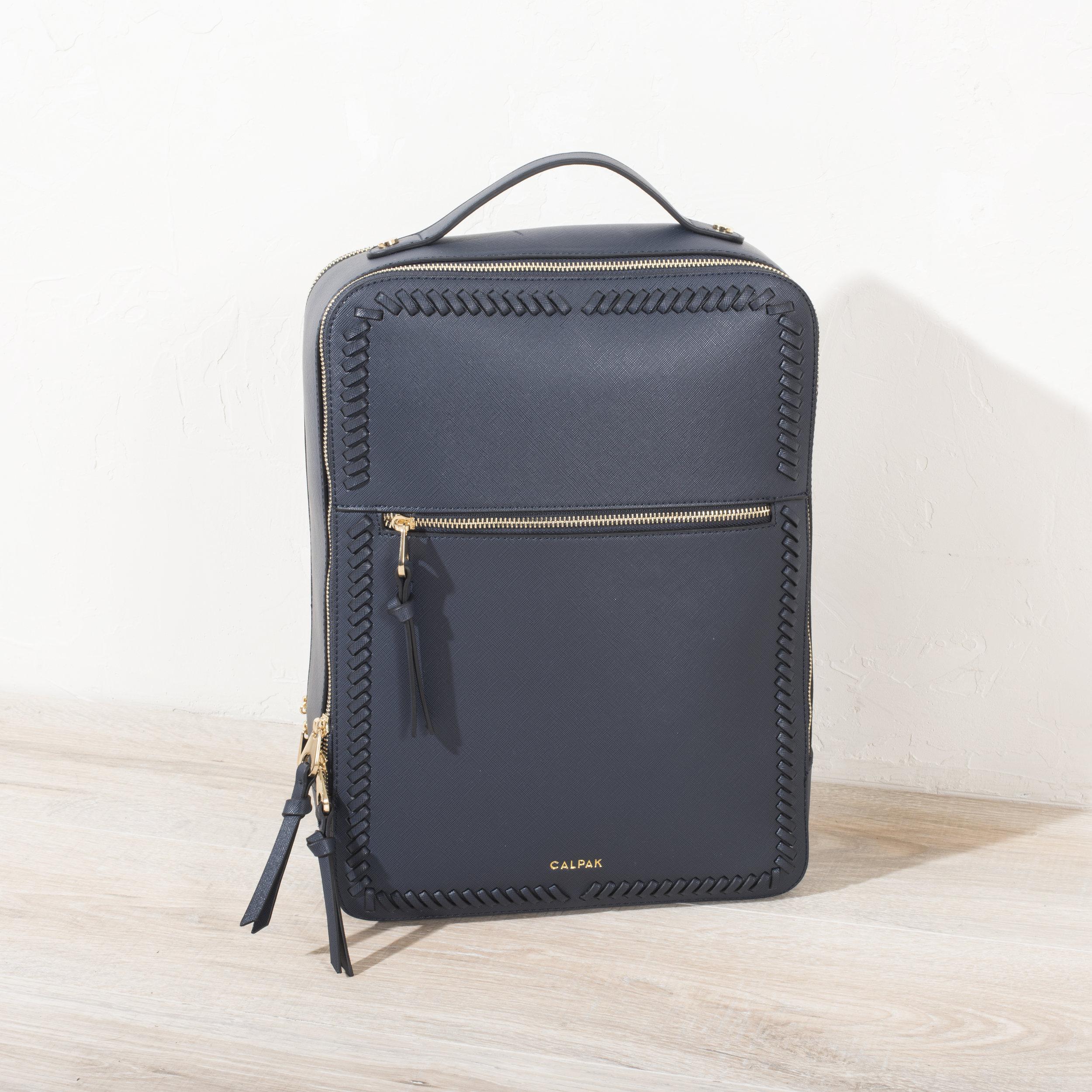 Kaya Laptop Backpack - Navy -