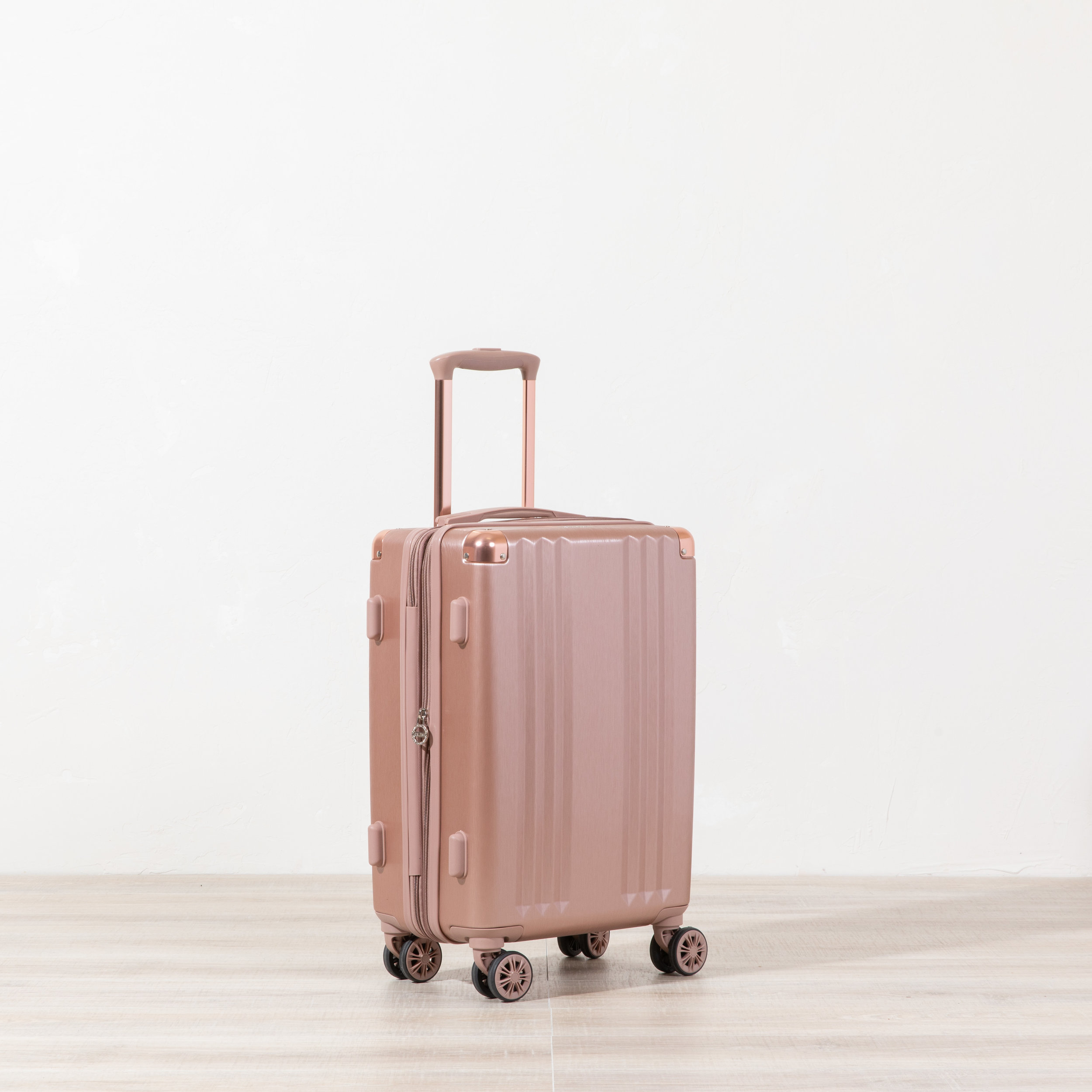Ambeur Carry-on - Rose Gold -