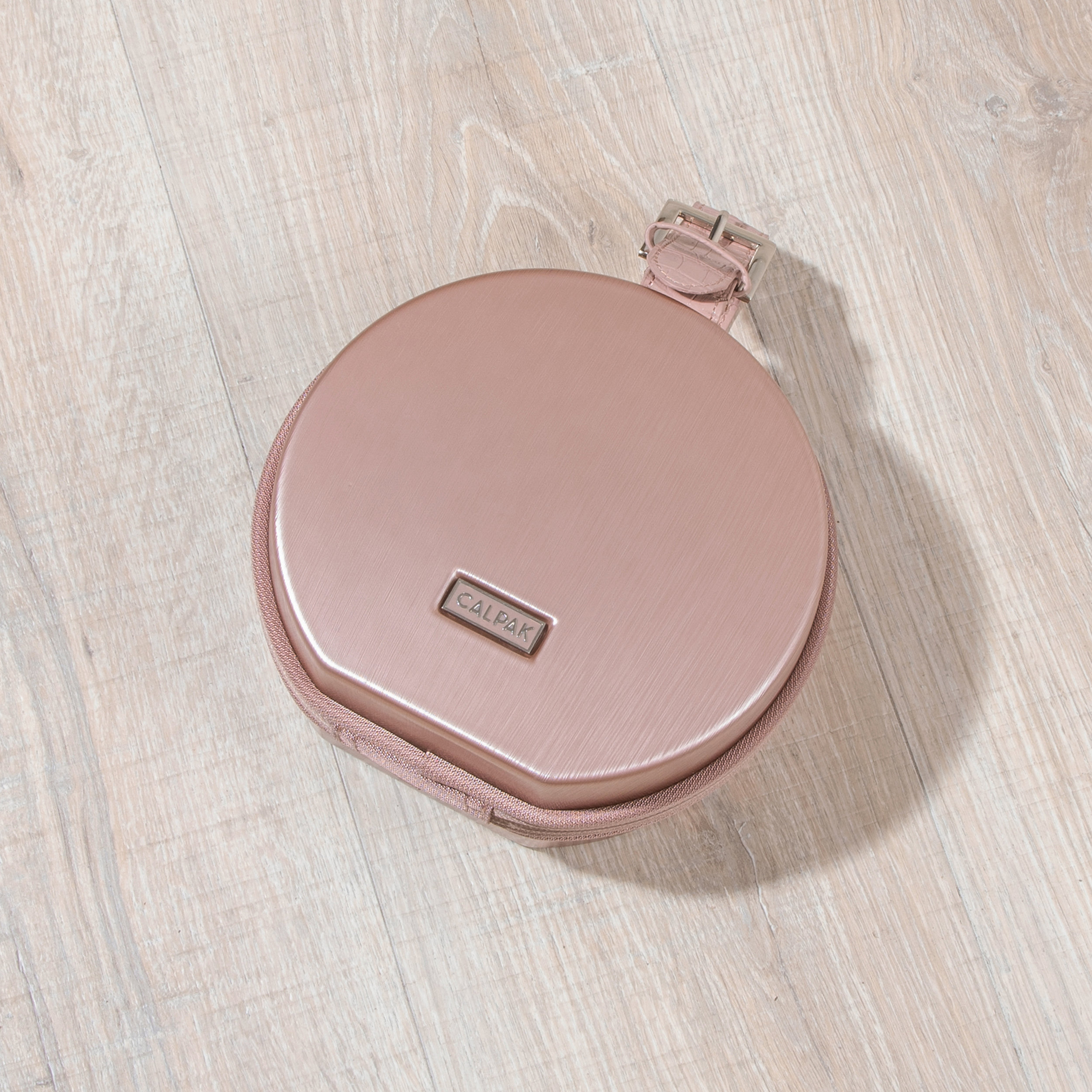 Baye Mini Hatbox - Rose Gold -